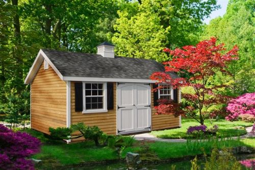 Classic Line A-Frame Shed