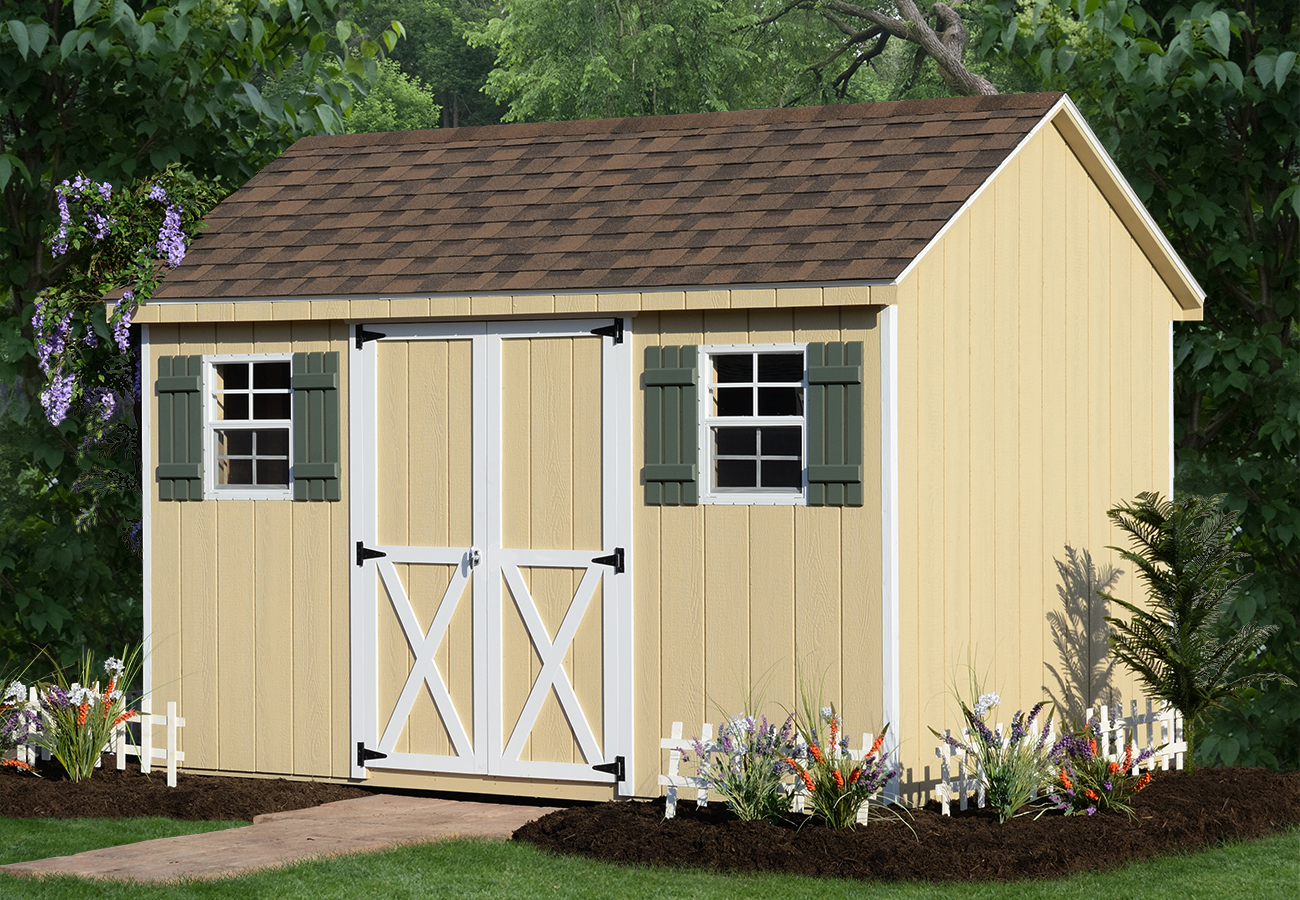a frame storage sheds 1 - Garden Sheds With A Difference