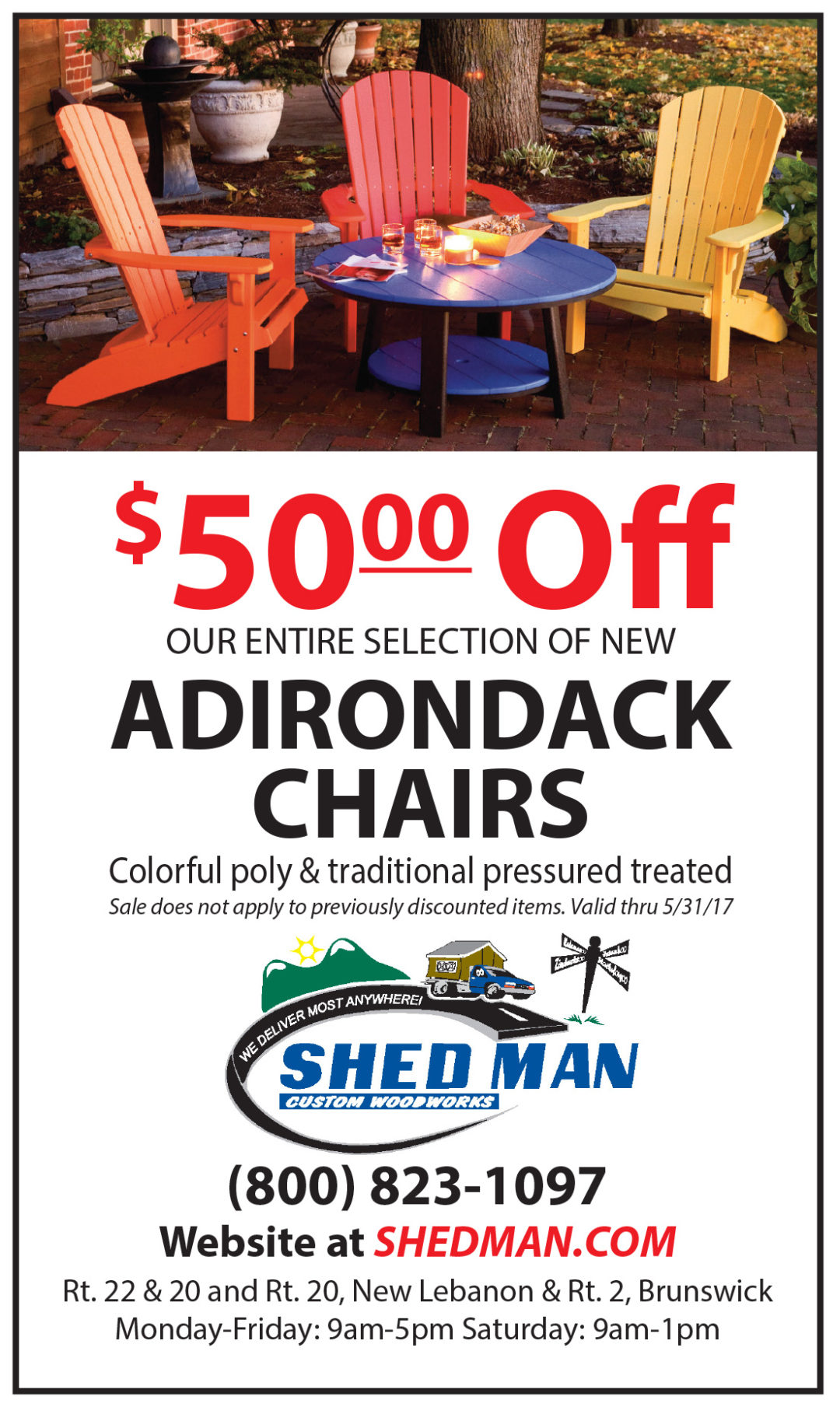 Adirondack Chair sale