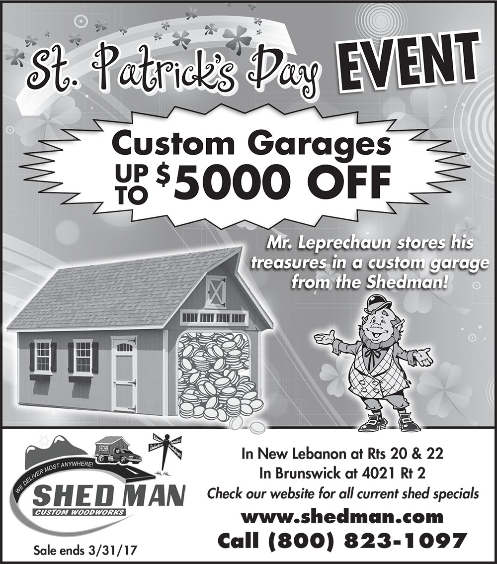 Save up to $5000 off custom garages