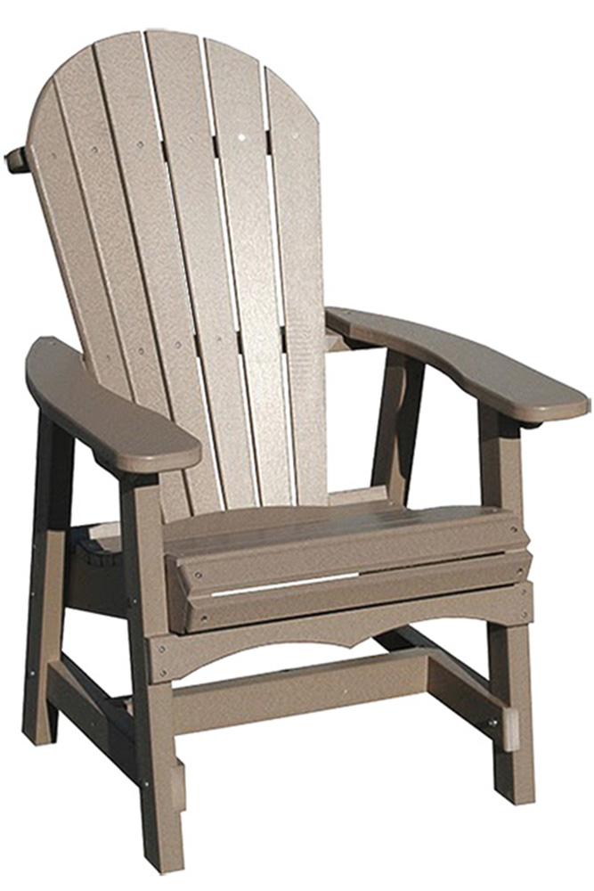 Poly Outdoor Furniture. Adirondack Deck Chair. Poly Outdoor Furniture.