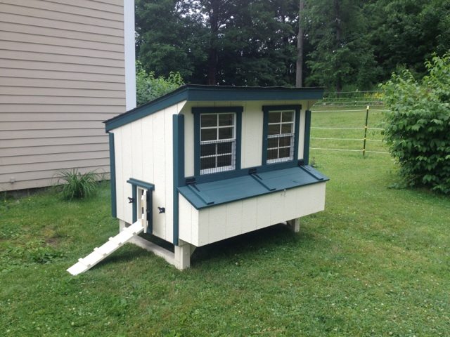 4 39 x6 39 chicken coop delivered to chatham n y shed man inc for 4x6 chicken coop