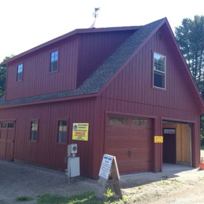 24'x30′ Two Story Garage