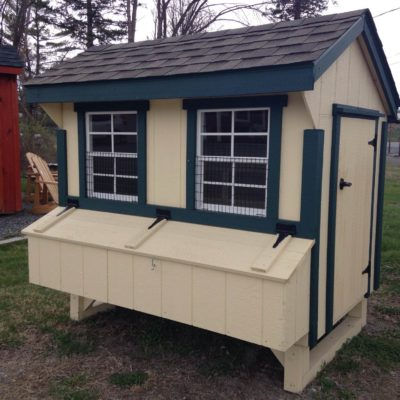 4'x6′ Quaker Chicken Coop