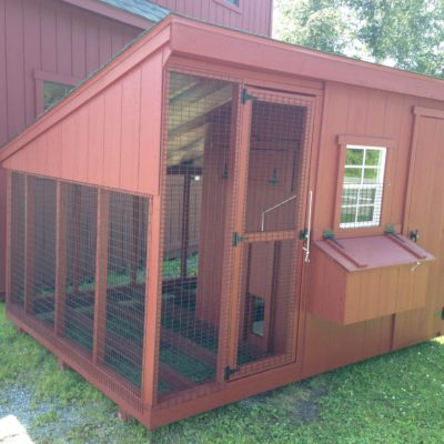 8'x10′ Easy Livin' Chicken Coop