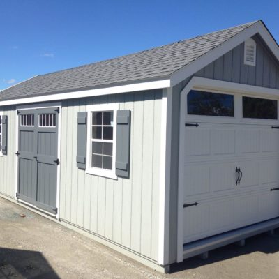12'x24′ Elite Shed Man Special A-Frame Garage