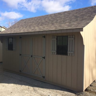 10'x16' Cape Shed