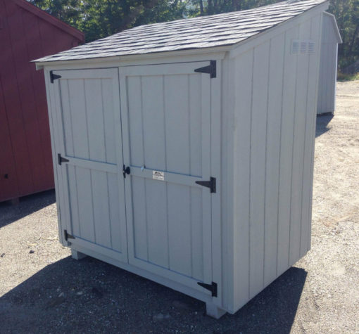 Lean To Up For Auction