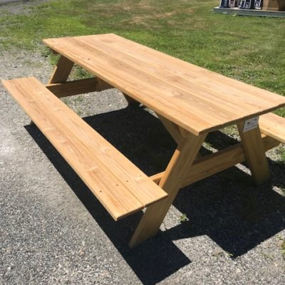 Picnic Tables For Sale In Columbia County And Rensselaer County NY - Long picnic table for sale