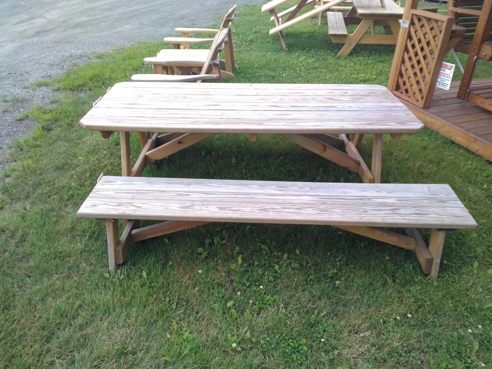 Weathered 6 Table