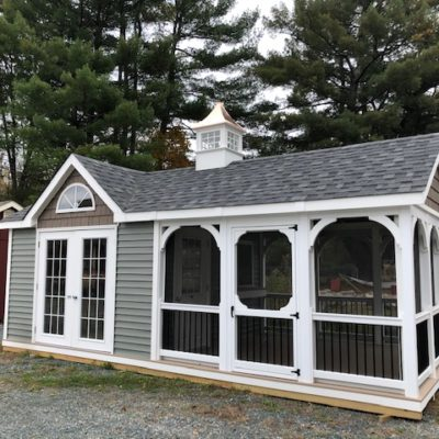 12' x 24' Rectangle Pool House