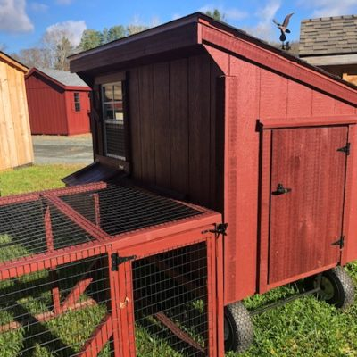 Used 4' x 6' chicken coop.